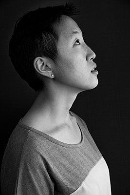 Asiatin im Profil - p1180m965919 von chillagano