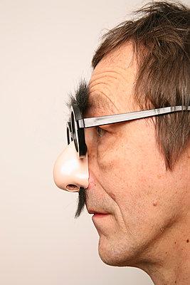 Nasenbrille - p165m881005 von Andrea Schoenrock