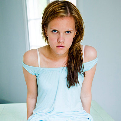 Annoyed young woman - p4130649 by Tuomas Marttila