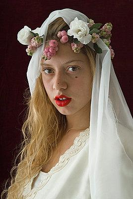 Bride - p6780019 by Christine Mathieu