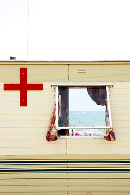 Life guards in France - p6370114 by Florian Stern