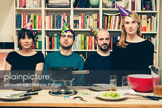 Party, Pärchenabend - p904m987436 von Stefanie Päffgen