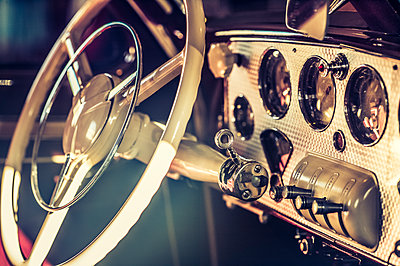 Old Cadillac dashboard - p401m2043360 by Frank Baquet
