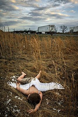 Icarus Fallen  - p1019m2076554 by Stephen Carroll