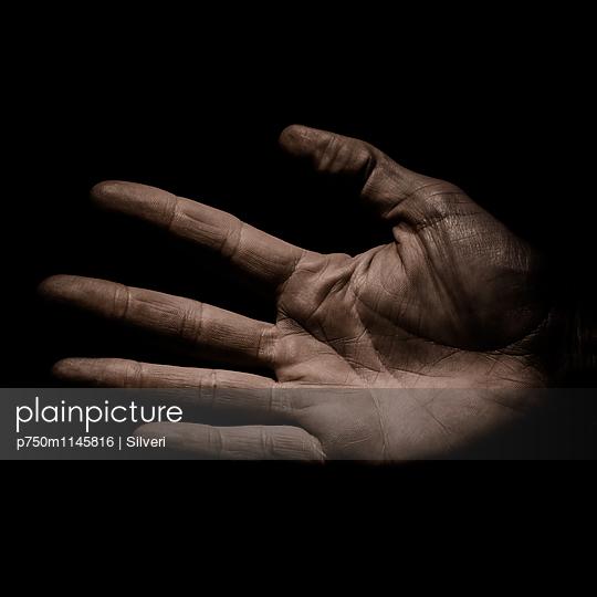 Hand - p750m1145816 von Silveri