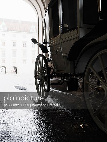 Kutschenfahrt in Wien - p1383m2100699 von Wolfgang Steiner