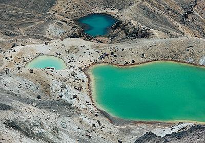 Emerald Lakes - p1599m2173712 von Sandra Bergemann