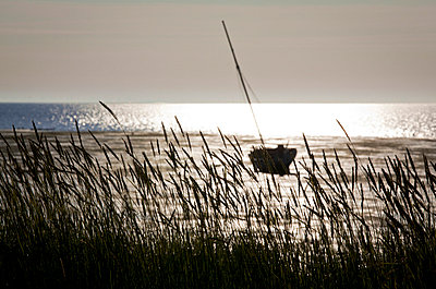 Sailing boat in Northern Germany - p4880366 by Bias