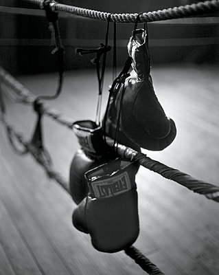 Boxing - p548m710038 by Fred Leveugle