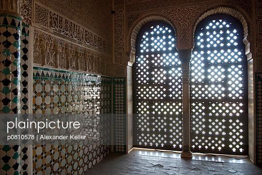 In der Alhambra - p0810578 von Alexander Keller