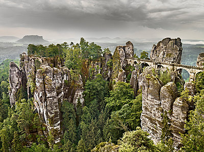 Elbe Sandstone Mountains - p9180087 by Dirk Fellenberg