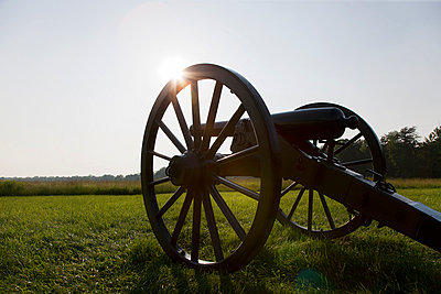 Cannon, Wilderness Battlefield, Fredericksburg and Spotsylvania National Military Park, Virginia, USA - p924m910975f by Ian Spanier
