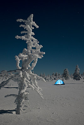 Tent in the tundra - p1241m1481510 by Topi Ylä-Mononen