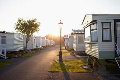 Caravan park in the evening I - p464m854725 by Elektrons 08