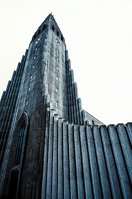 Hallgrimskirkja (Hallgrim's Church)  - p1047m1031591 by Sally Mundy