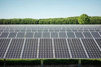 Germany, Kevelaer, solar plant - p300m2005471 von Robijn Page