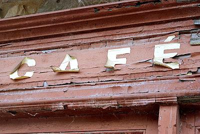 Schriftzug Cafe - p260m918278 von Frank Dan Hofacker