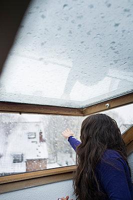 Der erste Schnee - p1293m1122697 von Manuela Dörr