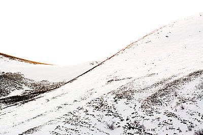 Snow-covered mountain - p813m1120002 by B.Jaubert