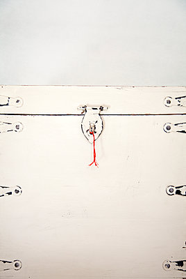 Red String on Chest Latch - p1248m1562047 by miguel sobreira