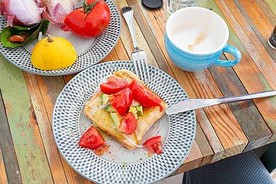Mediterranean breakfast - p454m2150117 by Lubitz + Dorner