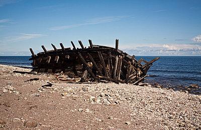 Abandoned shipwreck - p8580039 by Lucja Romanowska