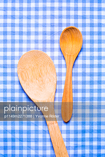 Wooden spoons - p1149m2271388 by Yvonne Röder