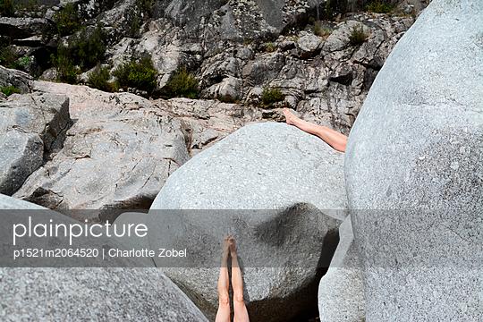 Big rocks - p1521m2064520 by Charlotte Zobel