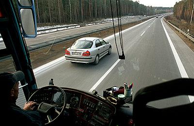 Auf der Autobahn - p0890024 von Gerd Olma