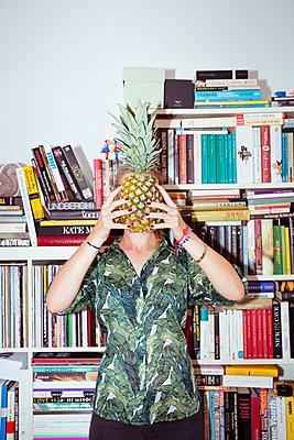 Pineapple - p432m1048157 by mia takahara