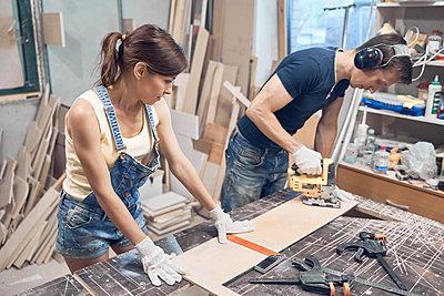 in workshop - p1630m2203530 by Sergey Mironov