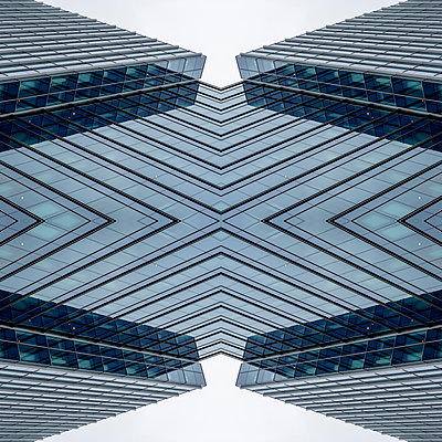 Abstract Architecture Kaleidoscope Boston - p401m2216017 by Frank Baquet