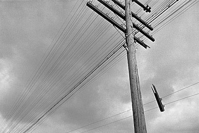 Telephone Line - p6270329 by Andreas Trogisch