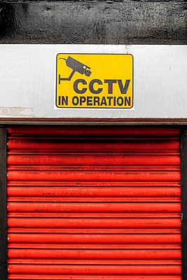 CCTV Sign - p1280m2008555 by Dave Wall