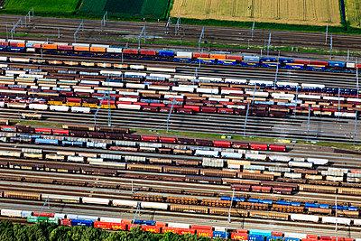 Eisenbahnstrecke Betuwe-Route - p1120m987381 von Siebe Swart