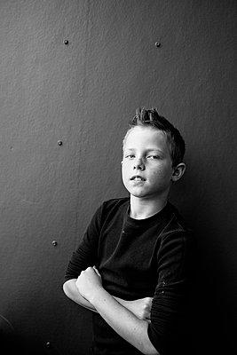 Confidant Boy - p1262m1444489 by Maryanne Gobble