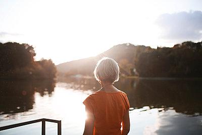 Coucher de soleil sur la Meuse 01 - p987m2221928 by Célia Swaenepoel