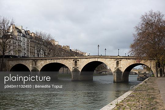 View of the Seine - p940m1132493 by Bénédite Topuz