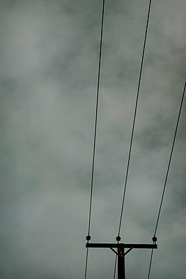 Telephone cables - p1228m2128538 by Benjamin Harte