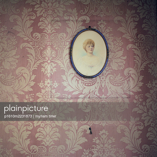 Altes Portrait   - p1610m2231873 von myriam tirler