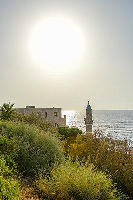 Blick aufs Meer bei Jaffa - p1267m1514262 von Wolf Meier