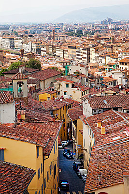 View over Florence - p382m1525178 by Anna Matzen