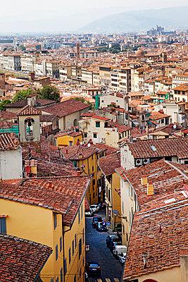 Blick über Florenz - p382m1525178 von Anna Matzen