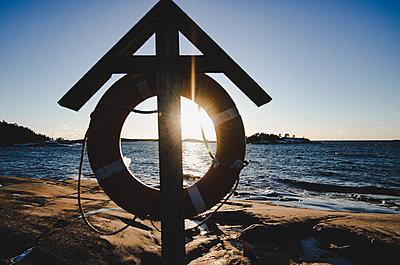 Sonnenuntergang an der Küste - p1455m2054145 von Ingmar Wein