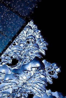 Metal Christmas tree - p533m1016167 by Böhm Monika