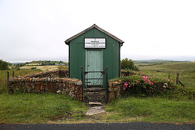 Old custom shed in County Donegal - p1289m2007939 by Elisabeth Blanchet