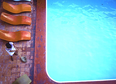 Poolside - p4092497 by Christine Fehrenbach