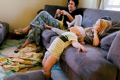 Babysitting - p1238m1055536 by Amanda Voelker