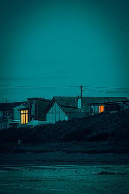 Ireland, Coast at twilight - p1681m2283687 by Juan Alfonso Solis