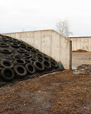 silage bales - p1214m1116216 by Janusz Beck